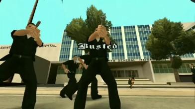 GTA San Andreas - Busted