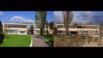 Сравнение локаций STALKER и Припять.