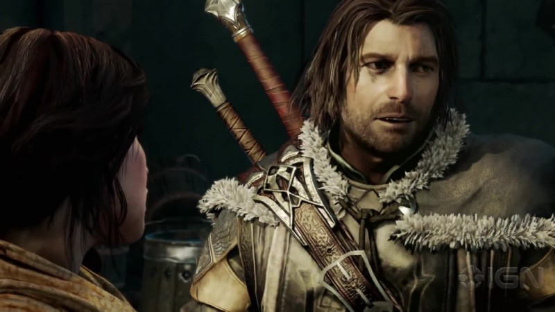9 минут of Shadow of Mordor Gameplay 4K PS4 Pro.