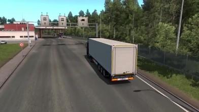 Euro Truck Simulator 2 - Балтийский видеоконтроль