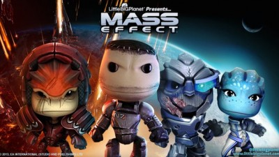Костюмчики Mass Effect появятся в Little Big Planet на этой неделе