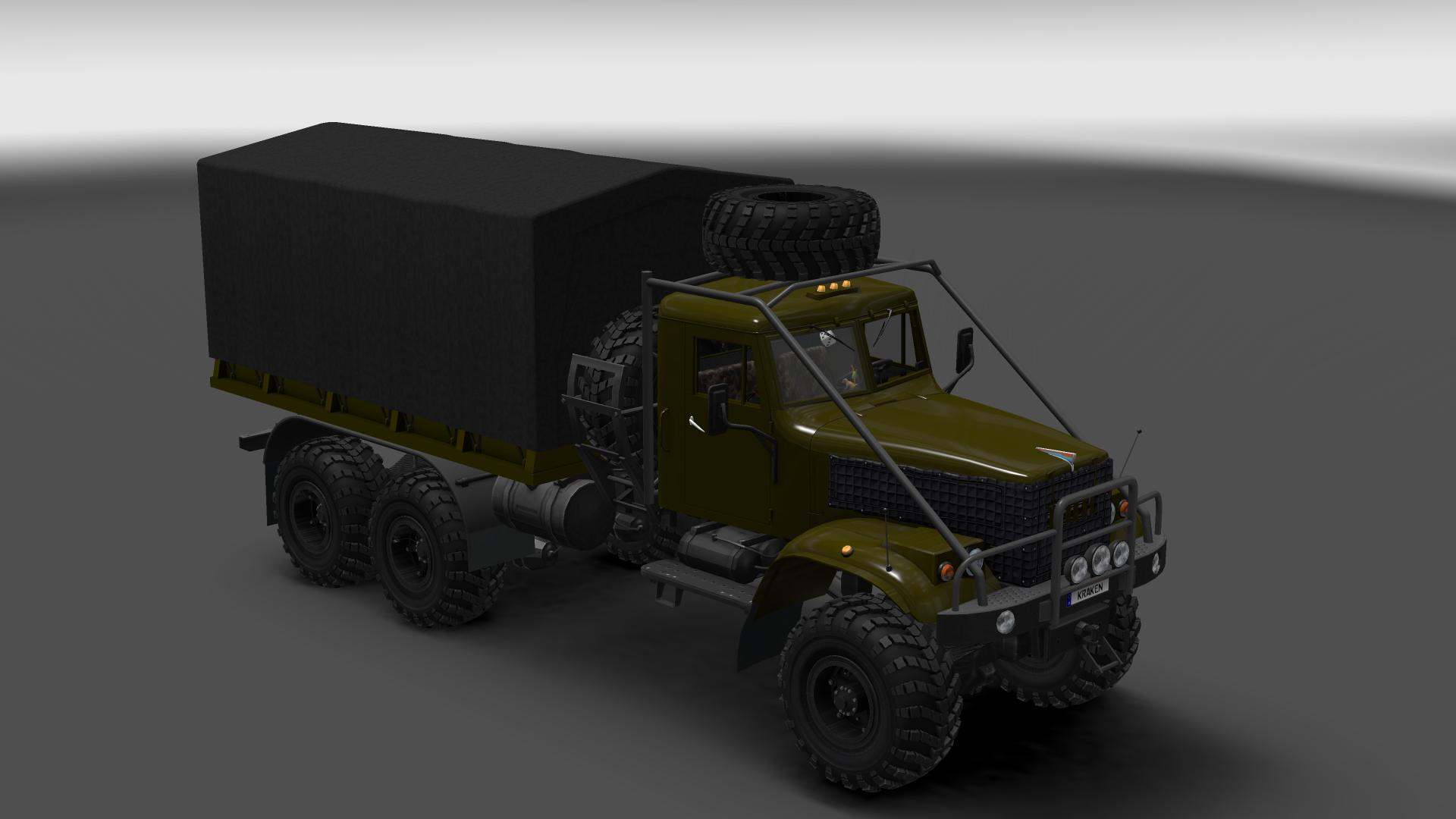 Euro Truck Simulator 2 Моды Камаз 6460