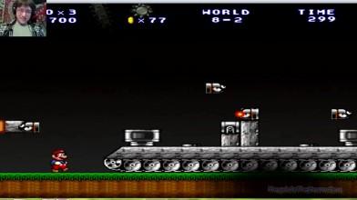 Mario Forever (SMB 3) v.6.0 (beta) - ФИНАЛ - 8 уровень - Танковый абздец (прохождение на русском)