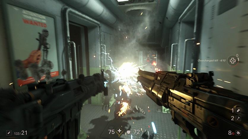Целый час геймплея WolfensteinII: The New Colossus