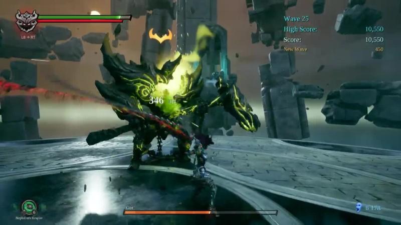 Darksiders 3 - The Crucible DLC - Гор Зверь ядовитого Пламени
