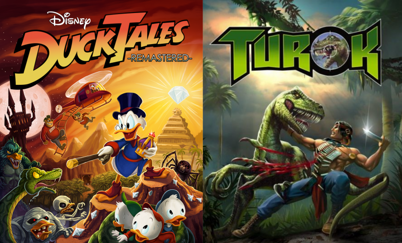 DuckTales Remastered & Turok Dinosaurs Hunter