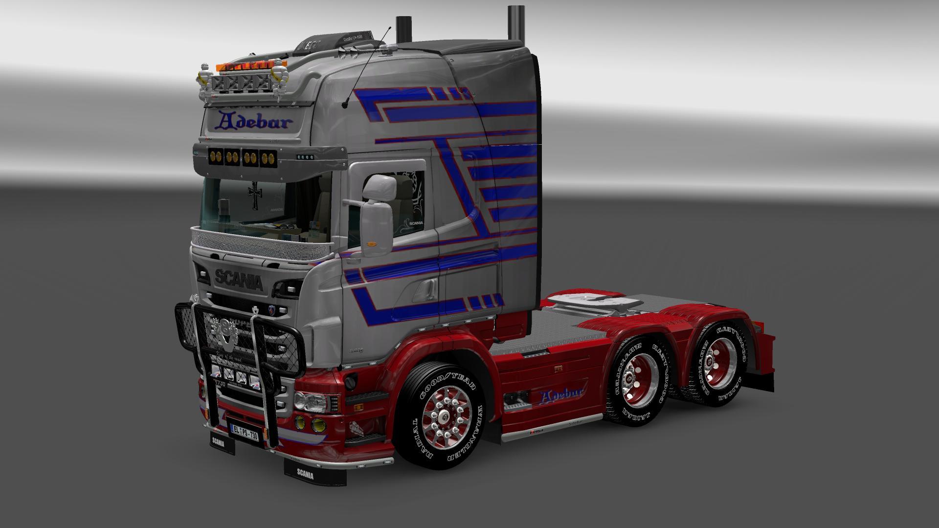 """ETS 2 """"Scania R 730 RJL Pack V 1.8"""" - Файлы - патч, демо ..."""