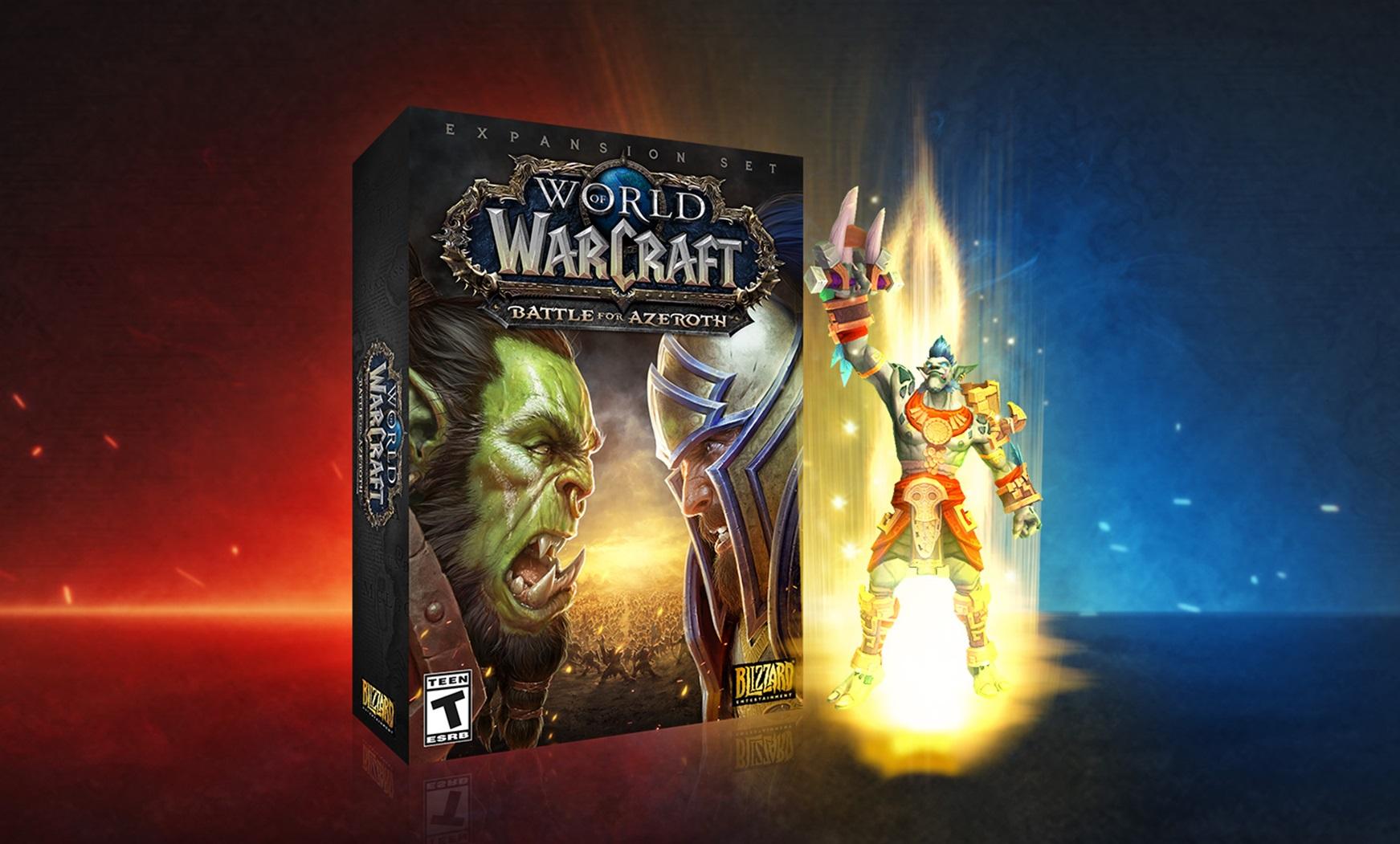 Скидки на World of Warcraft и бонусы электронных изданий Deluxe