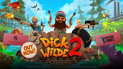 Релизный трейлер Dick Wilde 2