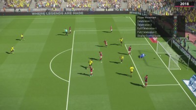 Сравнение PES 2017 vs. PES 2018 on PC (Candyland)