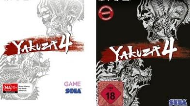 Yakuza 4: Kuro и Shiro Edition в Европе