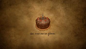 Приготовление тортика из игры Portal