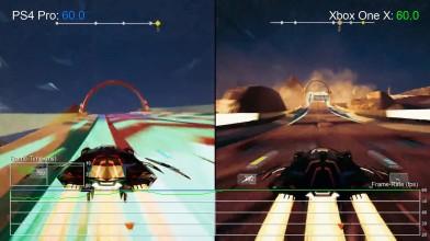 Redout: Что нового в версии Xbox One X? Больше на PS4 Pro! (DigitalFoundry)