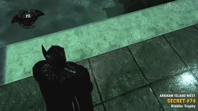 Batman Return to Arkham Asylum - Загадки Риддлера - Остров Аркхэм Запад