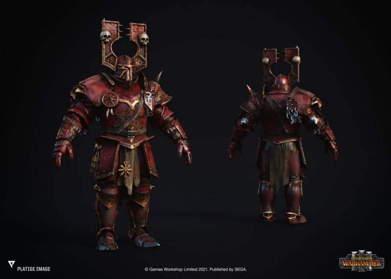 В сеть утекли рендеры отрядов Total War: Warhammer 3