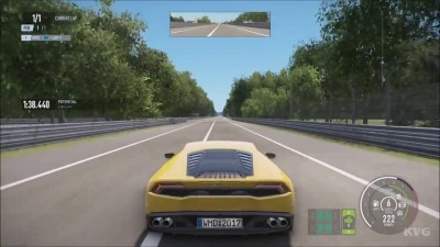 Project CARS 2 - Lamborghini Huracan LP610-4 2016 Тест-драйв Геймплей (HD)