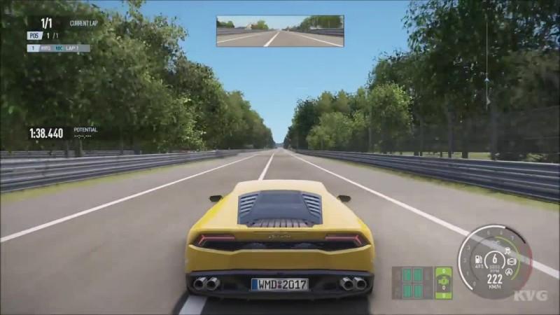 Project CARS 2 - Lamborghini Huracan LP610-4 2016 Тест-драйв Геймплей (HD)