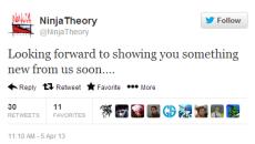 Ninja Theory дразнит новым проектом