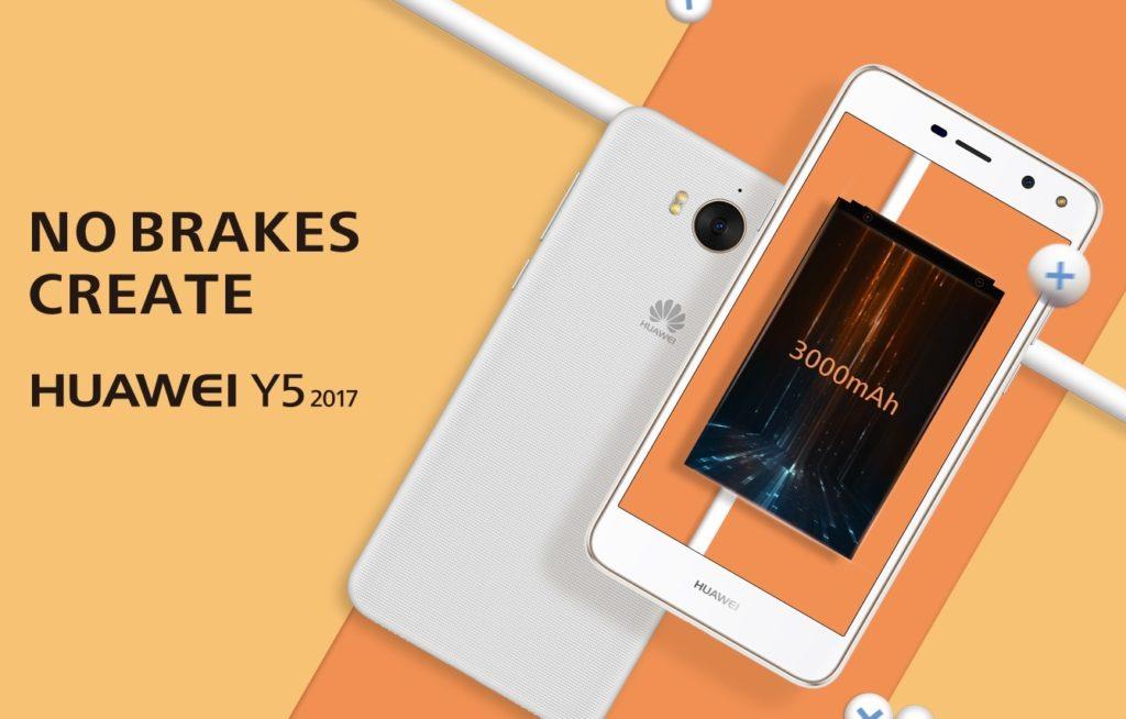 Huawei представила общедоступный Y6 2017
