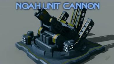 """Supreme Commander 2 """"Noah Unit Cannon Trailer"""""""