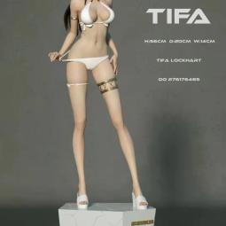Анонсирована высокая и тоненькая статуэтка Тифы Локхарт из Final Fantasy за 30 000 рублей