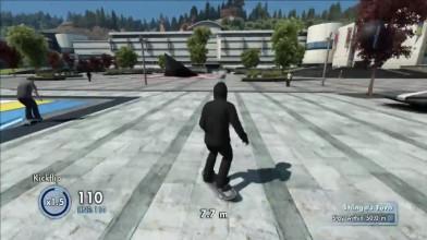 Skate 3 на xbox one!