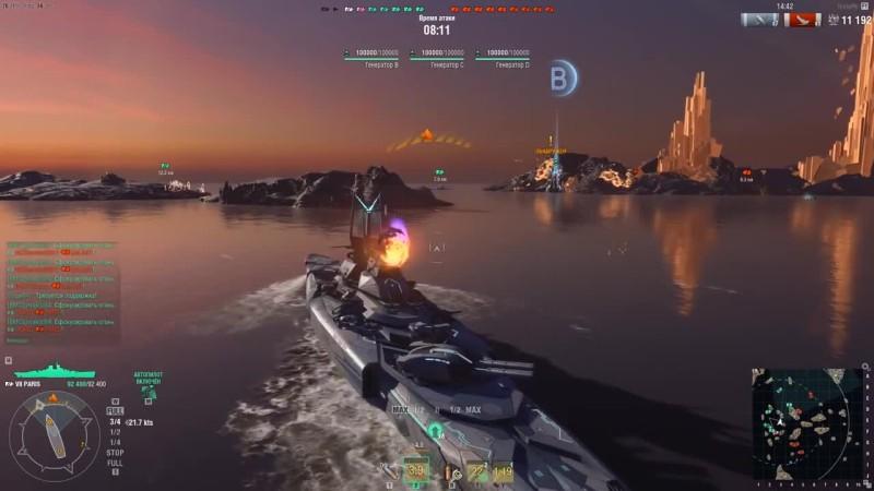 World of Warships - Один против всех на космическом линкорне