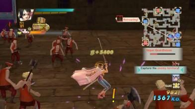 One Piece Kaizoku Musou 3 - Геймплей: Tashigi (Dream Log)