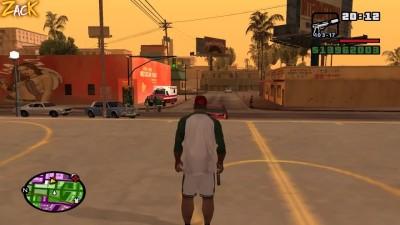 Как легко скрыться от полиции в GTA SAN ANDREAS! Баг о котором вы точно не знали!