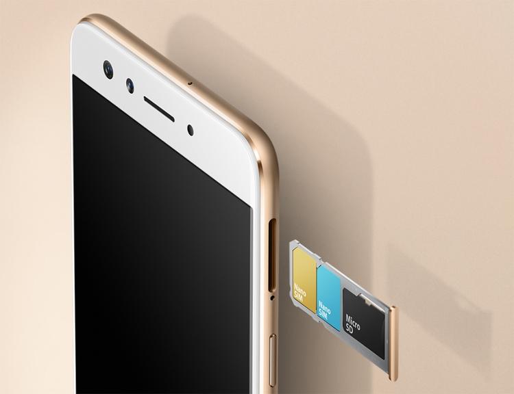 Анонсирован смартфон Oppo F3 сдвойной селфи-камерой