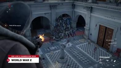 Одиннадцать минут демонстрации игрового процесса World War Z
