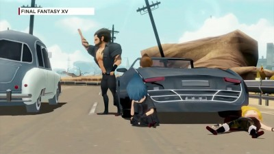Геймплей Final Fantasy 15: Windows Edition и Final Fantasy 15: Pocket Edition с Gamescom 2017