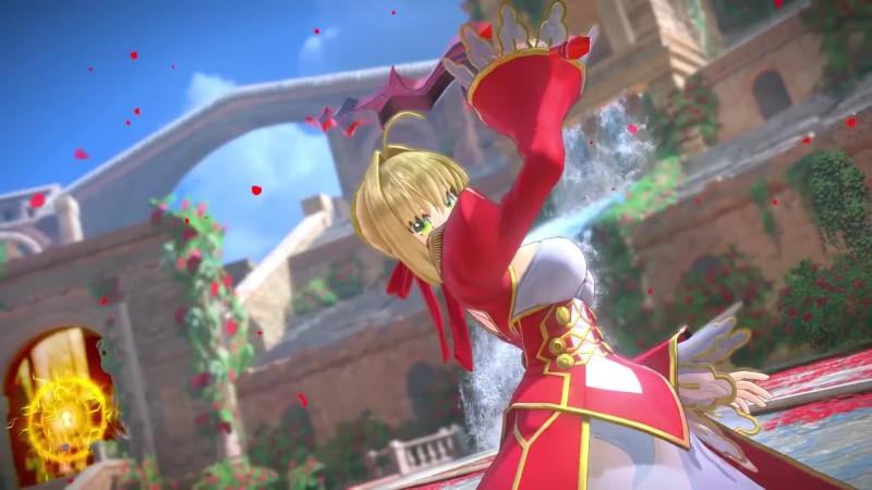 Трейлер даты выхода Fate / Extella Link