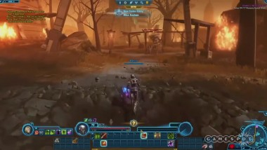 Первые 25минут Star Wars: The Old Republic - Knights of the Eternal Throne