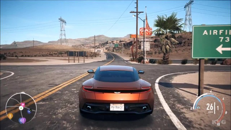 Need For Speed: Payback - Aston Martin DB11 Геймплей (PC HD)