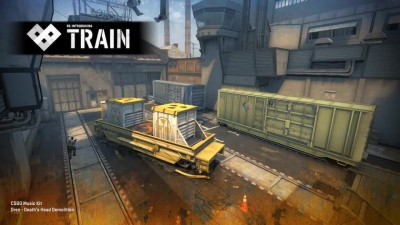 "Counter-Strike: Global Offensive ""Обновленная карта Train"""