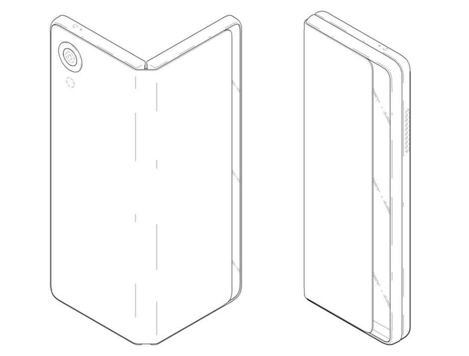 Складной смартфон-планшет сгибким дисплеем — ПатентLG
