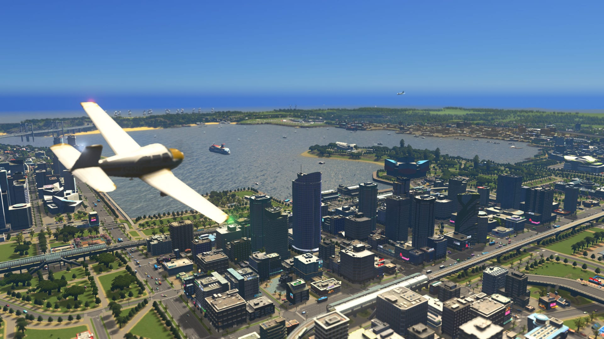 Для Cities: Skylines анонсировано новое дополнение Sunset Harbour