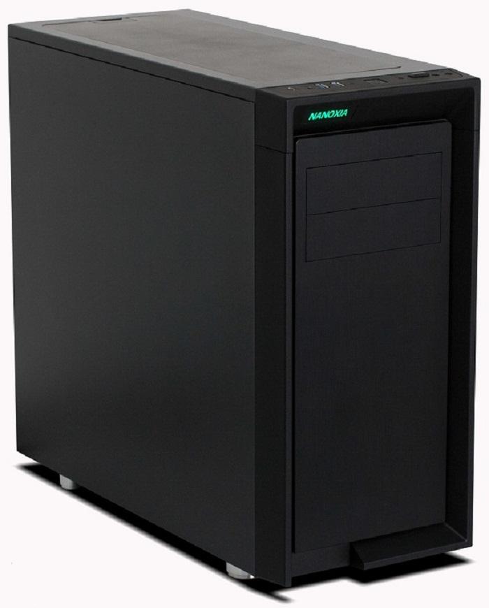 Компьютерный корпус Nanoxia CoolForce 2 Rev. B снабжен портом USB-C