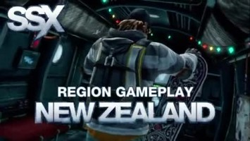 "SSX ""Region Gameplay - New Zealand"""