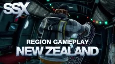 "SSX ""Region Gameplay - New Zealand"""