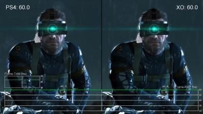 "Metal Gear Solid 5: Ground Zeroes ""Сравнение частоты кадров PS4 vs. Xbox One ""от Digital Foundry"