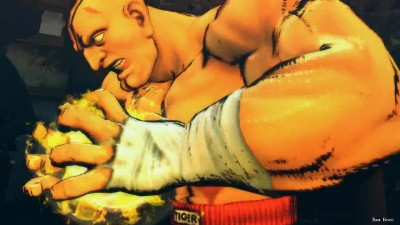 Ultra Street Fighter 4 - Big Boss vs Sagat