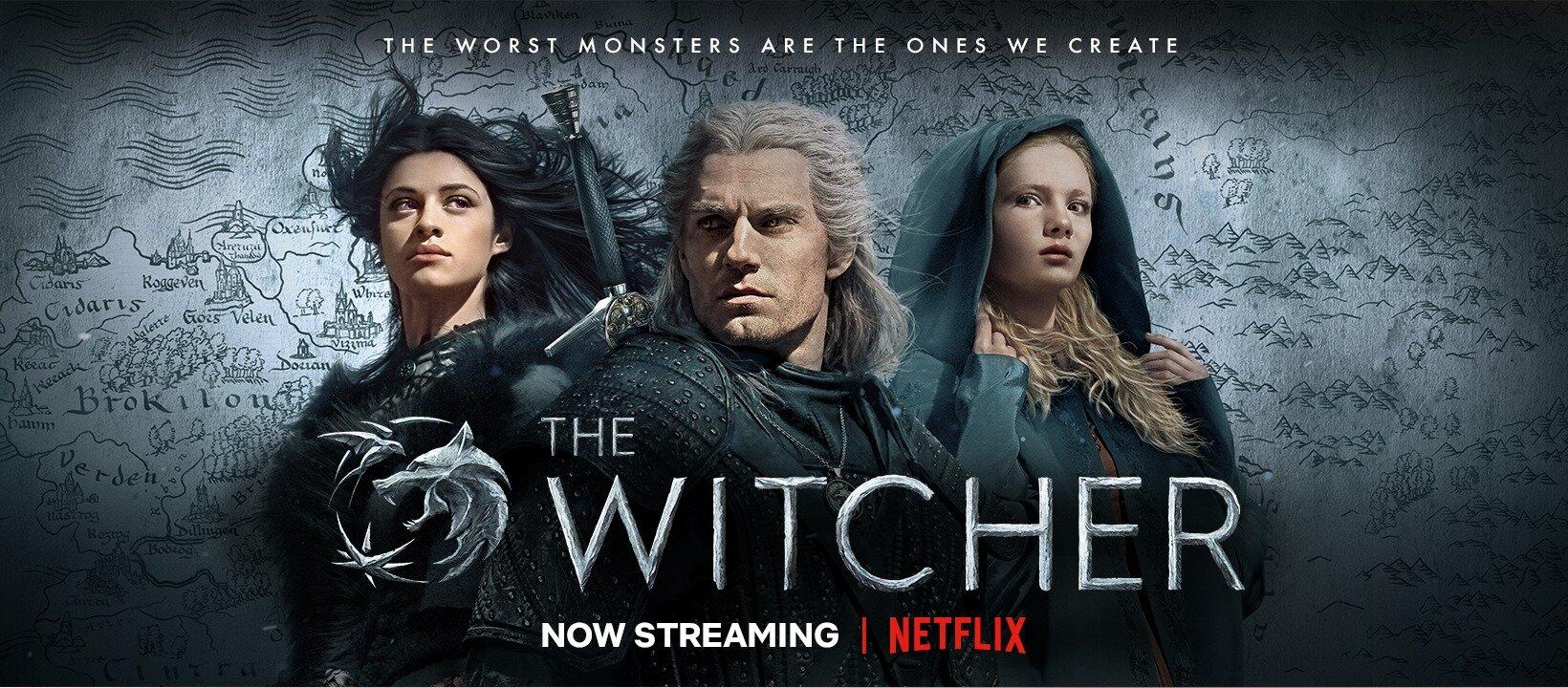 The Witcher - самый популярный сериал Netflix