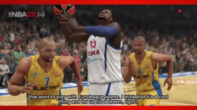 "NBA 2K15 ""Euroleague Трейлер"""