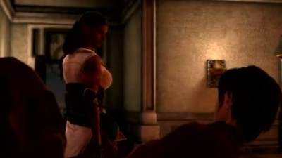 "Dragon Age 2 ""Hawke and Isabella Position Trailer"""
