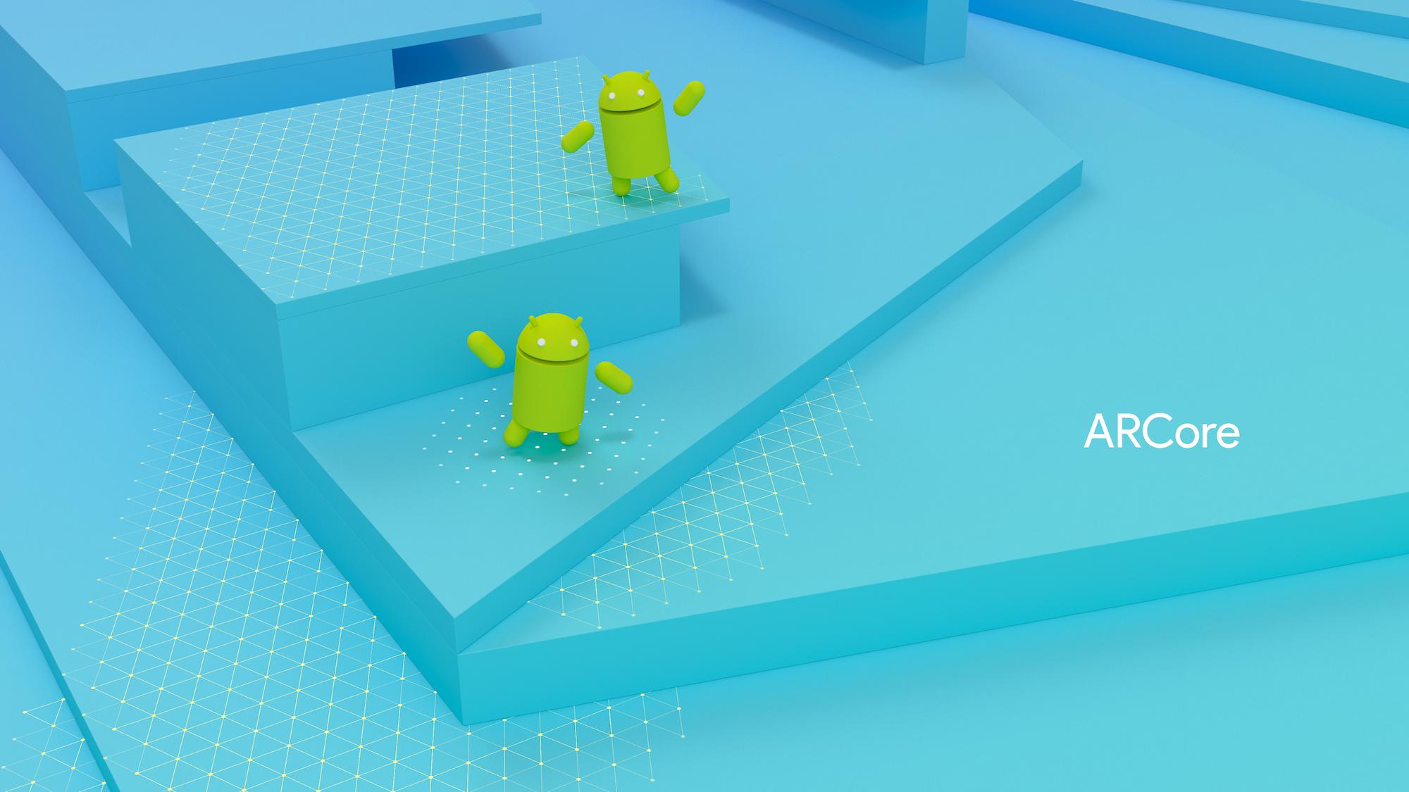 Google привнесла технологию дополненной реальности в мобильные телефоны
