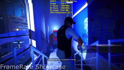"Mirror's Edge Catalyst ""Тест AMD RX 470 (1080p)"""