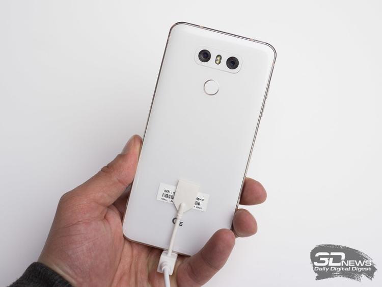 Первые «живые» фотографии телефона LGG6 Мини