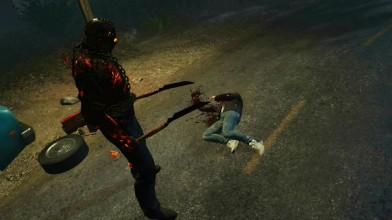 Friday the 13th: The Game - Джейсон Савини убивает всеми орудиями